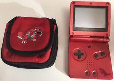 Consola Nintendo GameBoy Advance SP Edición Rubí