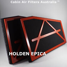 CABIN AIR POLLEN FILTER suits  HOLDEN EPICA 2007-2016 BREATHE CLEANEST AIR