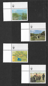 1986 SOUTH WEST AFRICA - Life in the Caprivi - Full Corner Set of Four - MNH.