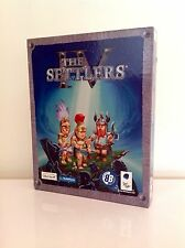 +++ BIG BOX JEU PC THE SETTLERS IV 4 VF & ANGLAISE COMPLET COMME NEUF  +++
