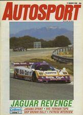 Autosport March 17th 1988 *Jarama WSPC & Thruxton F3*