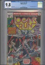 Logan's Run #3 CGC 9.8  1977 Marvel Comic , Movie Adaptation 3 of 5. NEW FRAME