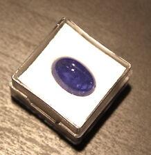 edelsteine24  Sehr schöner Tansanit-Tanzanite Cab. 9,30ct-14x9mm Oval! AA Tanz-5