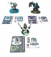 Skylanders Swap Force Figures, Bundle of 3 - New with No Package & FREE Gift