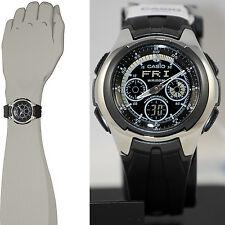 Casio AQ163W-1B1 Mens World Time Yacht Timer Watch Analog Digital 5 Alarms New