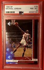 1996 SP  Michael Jordan #16 PSA 8 NM-MT