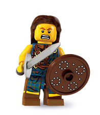 New Genuine Lego 8827 Minifigure Series 6 Highland Battler (Opened bag!)