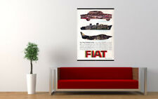 """1961 FIAT INDUSTRIES INTERNATIONAL AD PRINT WALL POSTER PICTURE 33.1""""x23.4"""""""