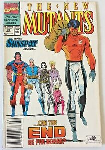 THE NEW MUTANTS.  NO. 99. (1ST SERIES). VINTAGE 1991.  SUNSPOT. FN CONDITION.
