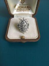 Brillant Diamant Ring 2,2ct,  585 er 14k Weißgold mit Brillanten, TW/vvsi