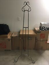 "67"" (5'7"") solid steel easel, can be taken apart into 3 portable pieces!"