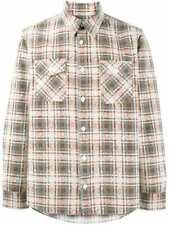 Visvim Elk Brushed Check Flannel Shirt - Brown Sz 4   XL