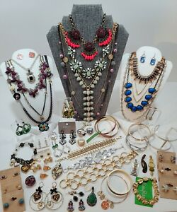 Designer Jewelry Lot. Loft, Betsy Johnson, J crew, Chicos, Stella & Dot, Talbots