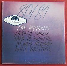 PAT METHENY 2LPS / LP    80/81  ECM ORIG GER  HADEN  DEJOHNETTE  REDMAN  BRECKER