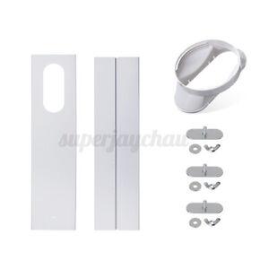 Schlauchadapter Abluft Adapter Fensterabdichtung für Mobile Klimageräte 13cm