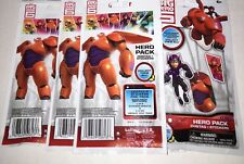 Disney Big Hero 6 Dog Tags With Sticker 6 Sealed packs