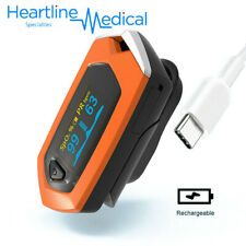 Rechargeable SpO2/PR Finger Pulse Oximeter Blood Oxygen Heart Rate - USA STOCK
