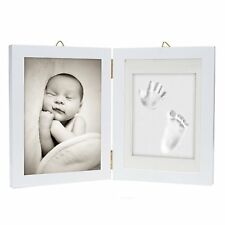 Baby Hand & Foot Print Frame Kit Soft Safe Imprint Clay for moulding