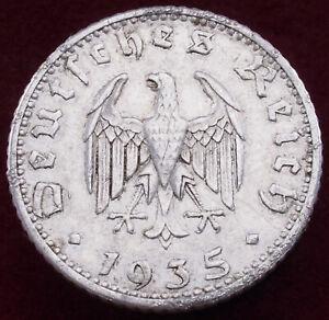 Germany 50 Reichspfennig 1935 A (H2804)