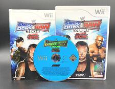 "NINTENDO WII SPIEL"" SMACK DOWN VS RAW 2008 08 WRESTLING feat. ECW "" KOMPLETT"
