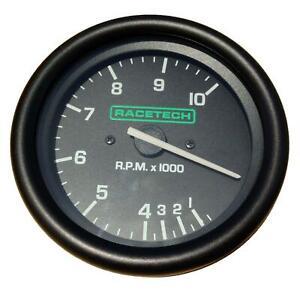 Racetech 80mm Tacho / Rev Counter 0-10000 RPM Electronic