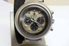 TISSOT T12 STAINLES STEEL MANUAL WIND CHRONOGRAPH VINTAGE MEN'S WATCH