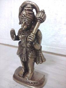Hindu God Hanuman Standing Temple Statue Hinduism Figurine Sculpture Garuda rare