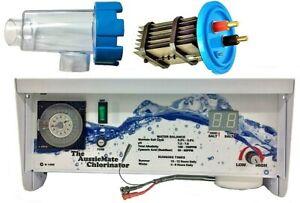 Autochlor Retrofit replacement 20amp std SaltWater Chlorinator & Cell Aussiemate