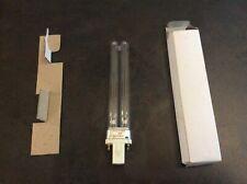 9W 9 Watt POND CLARIFIER FILTER PLS 2 PIN G23 UV UVC BULB TUBE LAMP (F7f)
