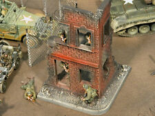 """RETIRED""  Build-a-Rama 1:32 Hand Painted 2 Story City Building"