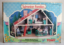 ULTRA RARE VINTAGE 1985 SYLVANIAN FAMILIES DELUXE FAMILY HOUSE TOMY EPOCH NEW !