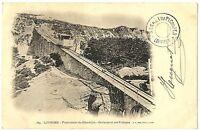 CPA 65 Haute-Pyrénées Lourdes Funiculaire du Grand-jer Croisement des voitures