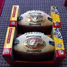 Super bowl 37 NFL Footballs- Fluke Raiders Ball!  only 12 known to exist