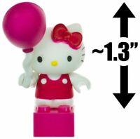 Mega Bloks Sanrio Hello Kitty mini figure figurine series 1 Balloon block 3 pcs.