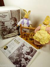 Robert Raikes Original 1991 Easter Rabbit Bunny Figurine Mint box Signed Le Coa