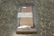 RECOVER REAL WOOD CASE FOR IPHONE 6/6S WALNUT 106953-1 (J) BBB-5 [#24]