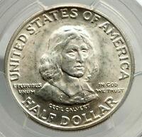 1934 MARYLAND Cecil Calvert Commemorative Silver Half Dollar Coin PCGS i76444