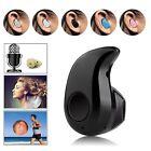 Nero Mini Wireless Bluetooth 4.0 Audio cuffie auricolari Sport Telefono Per Auto