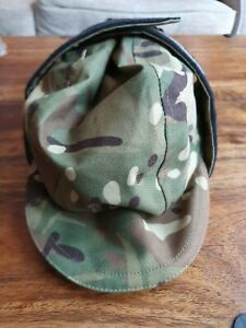 British Army Waterproof Cold Weather MTP Fleece-lined Hat