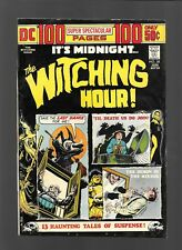 WITCHING HOUR #38 DC 1974 Horror 100 Page Super Spectacular