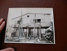 Unknown  surrealist photographer FRANCE  Interwar BUILDERS   16 x 17cm originL