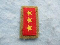WWII US Marine Captured Japanese Army Collar Insignia Superior Private Army WW2