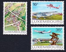 Aviation Luxembourg Stamps