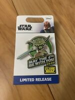 Disney Star Wars May The 4th Be With You Yoda PIN 2020 Limited Edition - In Hand