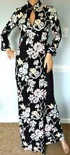 New Diane von Furstenberg DVF China Vine Floral Abigail Maxi Long Wrap Dress 8