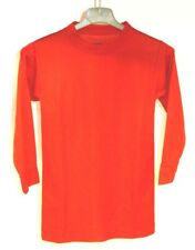 New - Vkm Youth Sports Practice Jersey Long Sleeve Red (Size: Large)