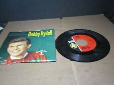 BOBBY RYDELL Gee It's Wonderful C-217 CAMEO 45  Record PICTURE SLEEVE A835 PL