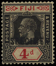 Mint Hinged George V (1910-1936) Fijian Stamps