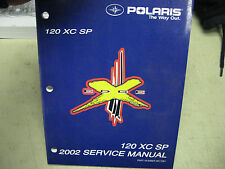 Polaris OEM service manual 9917361 120 XC SP 2002
