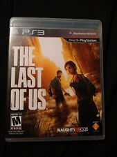 The Last of Us (Sony PlayStation 3, PS3) Complete with stickers!!